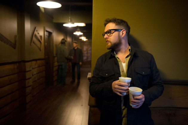 Ed Lurking in the Hallway