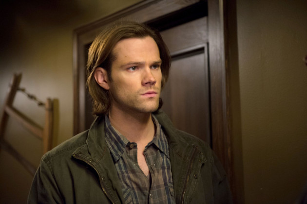 Sam in the Motel Hallway