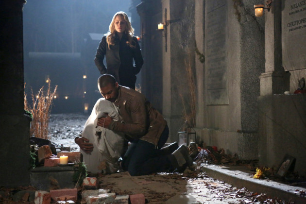 Rebekah and Marcel on the Run