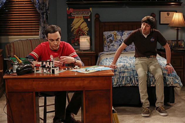 Howard Tries to Comfort Sheldon