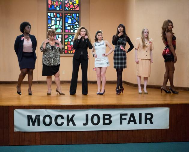 Mock Job Fair Scene