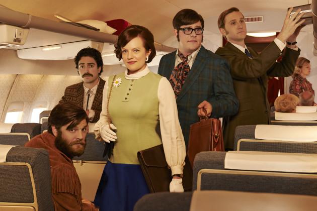 Peggy on a Plane