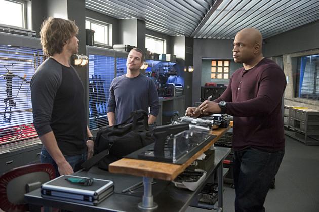 Callen and Sam Facing Deeks