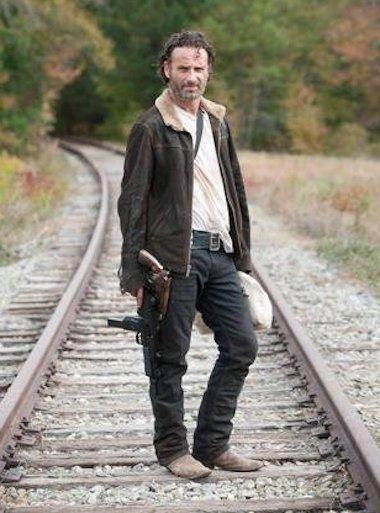 Rick on the Tracks
