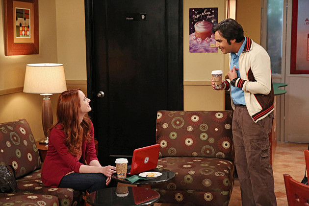 Raj and Emily Meet Over Coffee