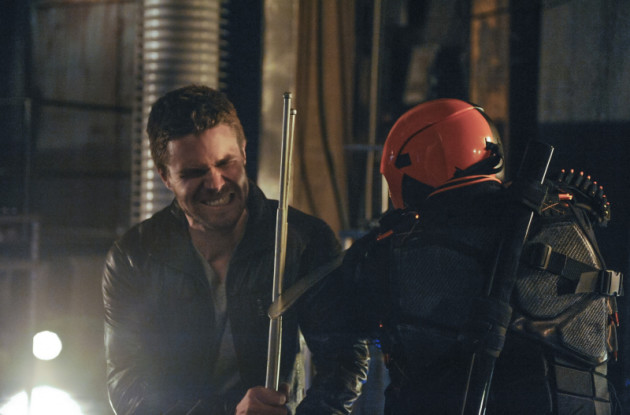Oliver vs Deathstroke