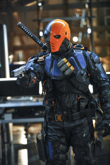 Slade Suited Up