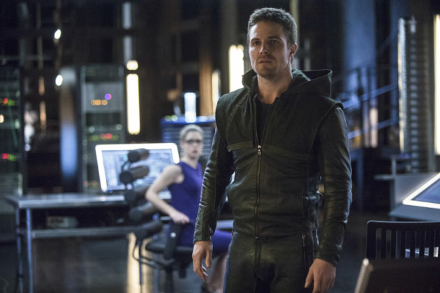 Stephen Amell as Oliver Queen/The Arrow
