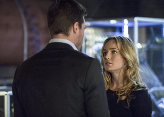 Sara Looks Up at Oliver