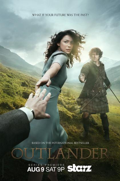 Outlander, Starz, Saturday, August 9