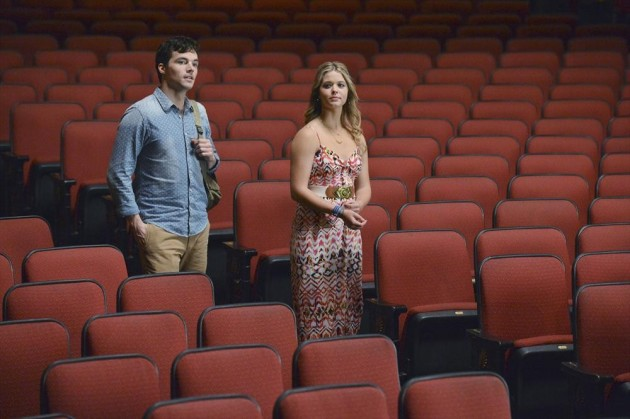 Ezra and Ali in the Audience