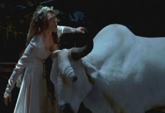 Maryann Gored by Sam the Bull