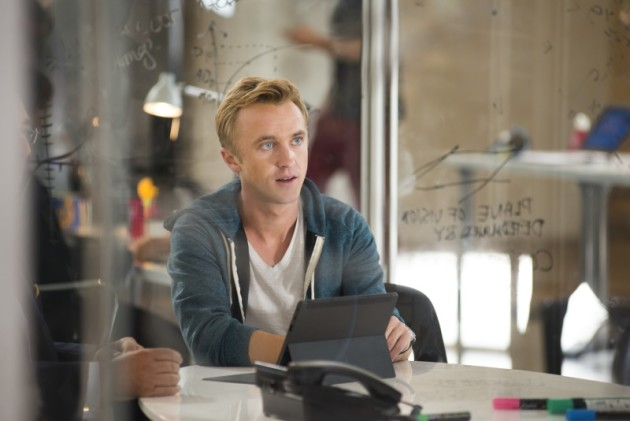 Tom Felton as Erich Blunt