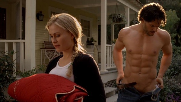 Sexy Non-Sex Between Sookie and Alcide