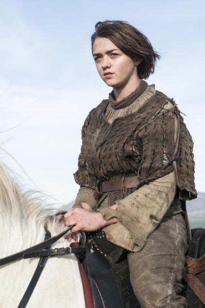 Arya on a Horse