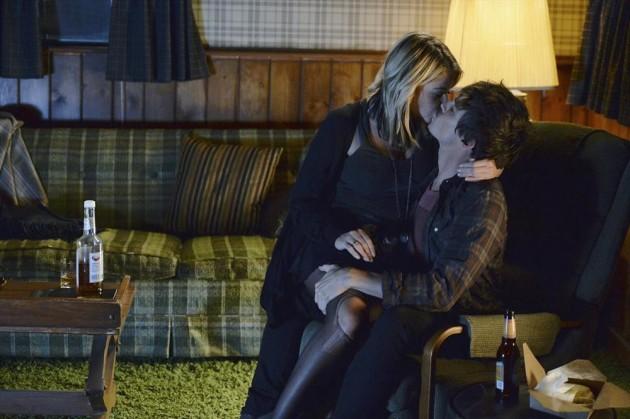 Caleb Grabs Hanna's Leg