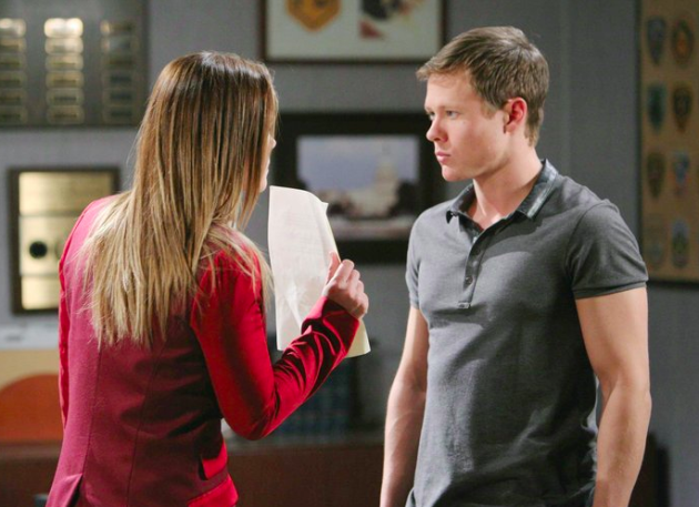 Mother / Son Showdown - Days of Our Lives