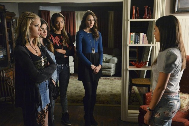 Confronting Mona - Pretty Little Liars Season 5 Episode 12
