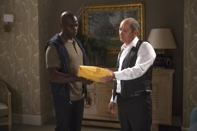 Red Meets Dembe - The Blacklist Season 2 Episode 1