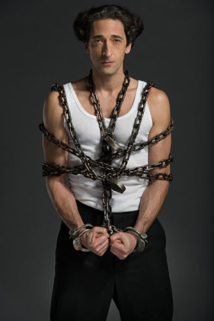 Adrien Brody as Harry Houdini