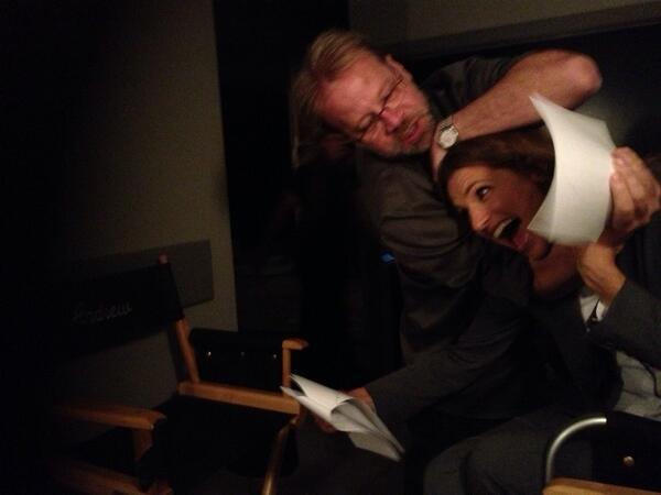 Things Get Rough Behind the Scenes - Castle