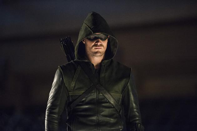 Stoic as Always - Arrow Season 3 Episode 1