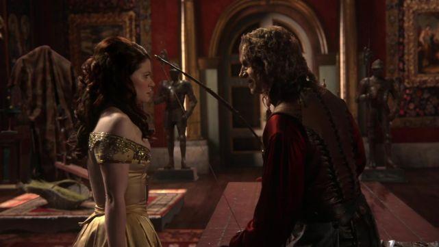 Belle & Rumpelstiltskin (Once Upon a Time)