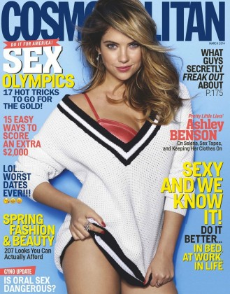 Ashley Benson Cosmopolitan Photos