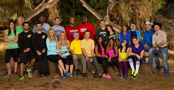 The Amazing Race All-Stars Cast