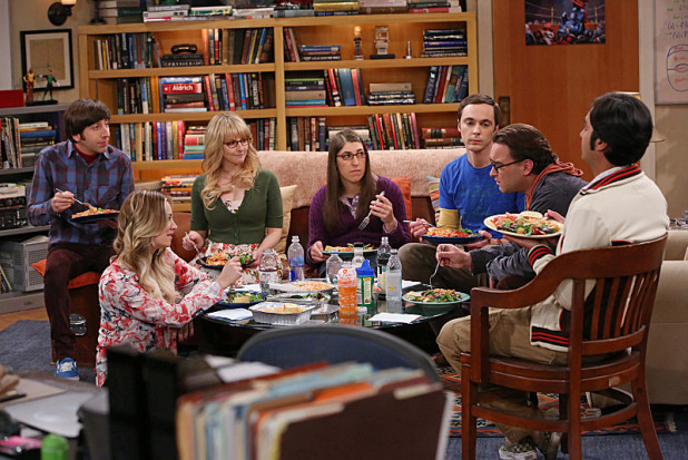 "The Big Bang Theory Photos from ""The Table Polarization"""