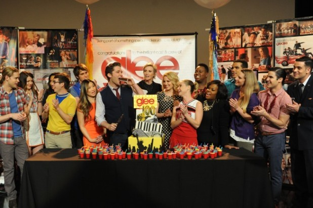 Glee 100th Episode Celebration Photos
