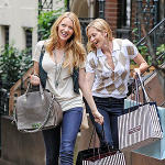 Kelly Rutherford with Blake Lively
