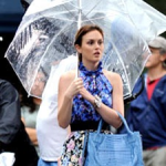 Leighton Under an Umbrella