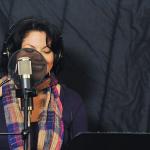 Sara In the Studio
