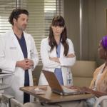 Lexie, Derek and Patient