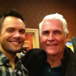 Joel McHale and James Brolin