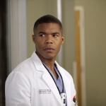 Gaius Charles on Grey's