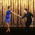 Dorothy Hamill and Tristan MacManus