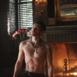 Klaus Shirtless