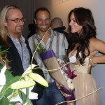 Katharine McPhee & Nick Cokas at L.A. Fashion Week