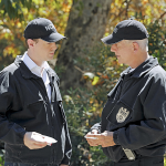 McGee & Gibbs At the Crime Scene