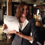 The Good Wife Set Pic