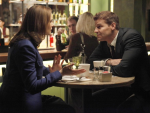 Brennan and Bones Meeting