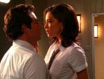 Chuck and Hannah Kiss