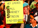 Barney at the Super Bowl