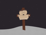 Cartman on the Crucifix