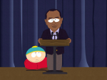 Tiger Woods on South Park