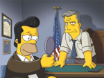 Jon Hamm on The Simpsons