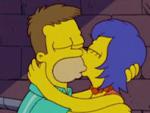 Vintage Homer and Marge
