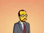 James Lipton on The Simpsons